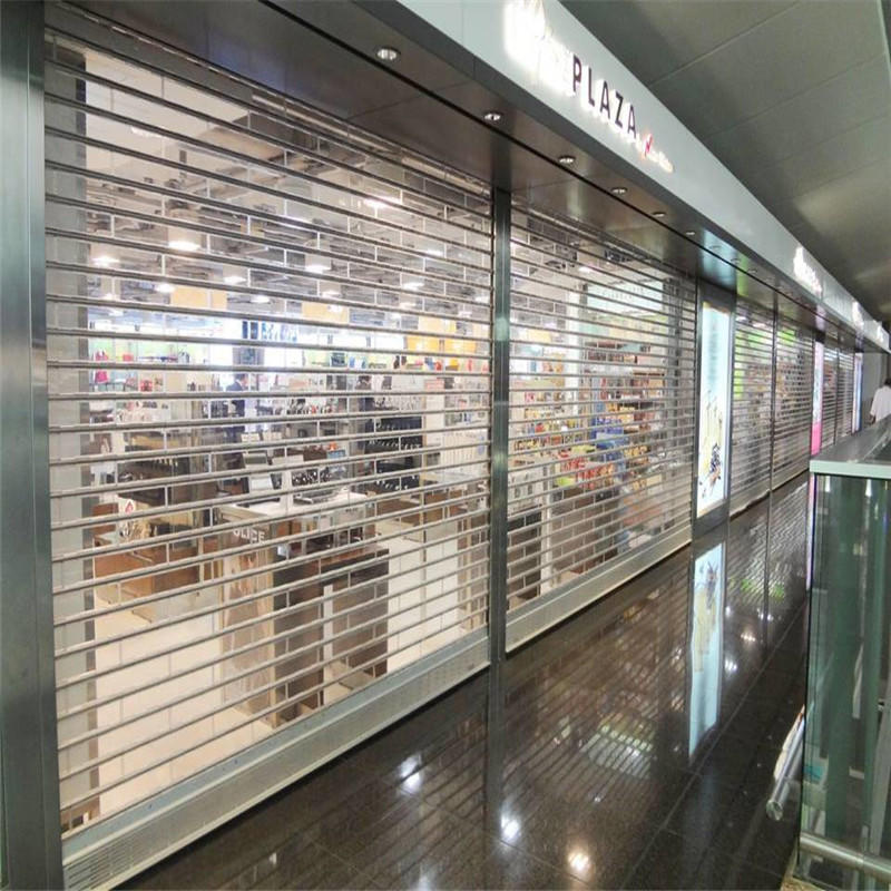 Black Color Polycarbonate Rolling Door