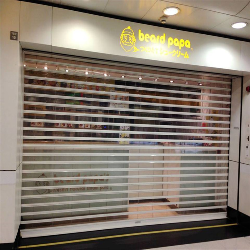 Zhongtai-Manufacturer Of Shop Roller Doors Top Quality Polycarbonate Rolling Door