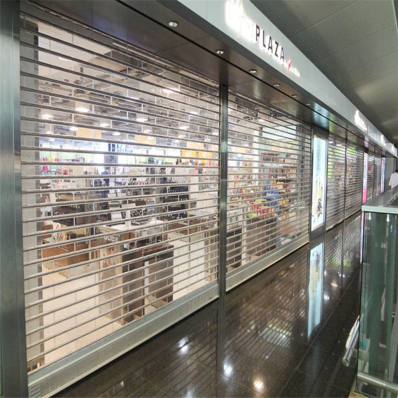 Zhongtai-Stainless Steel Polycarbonate Rolling Door | Shop Shutter Prices Factory