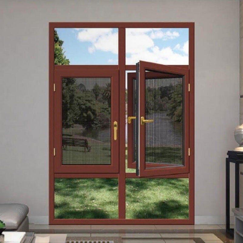 Aluminum frame Glass Casement Window