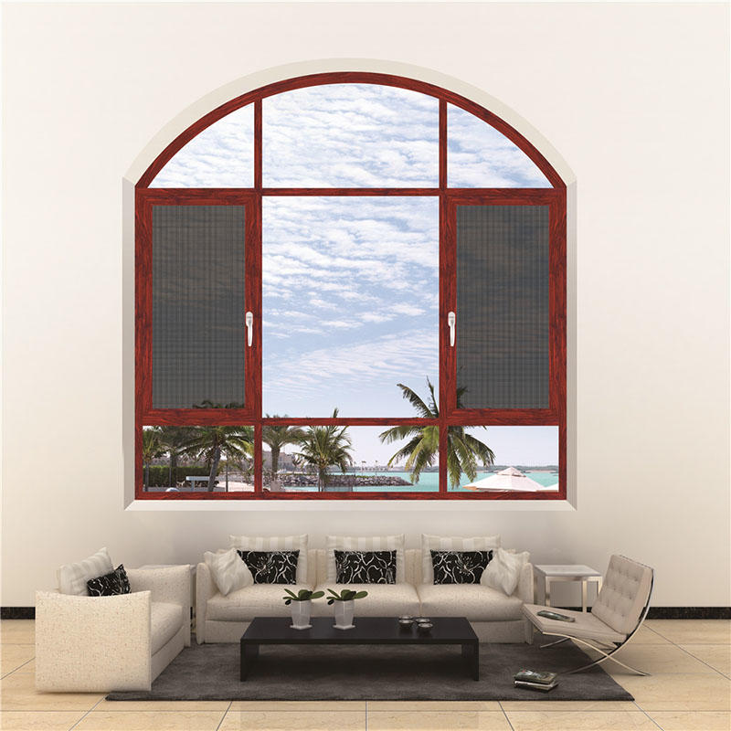 Aluminum frame Glass Casement Window
