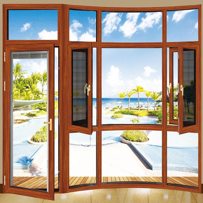 Zhongtai-High-quality Aluminium Window Frames | Aluminum Frame Glass Casement Window