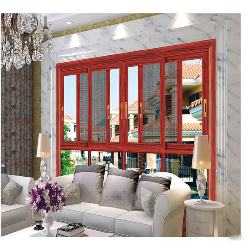 Aluminim Sliding Window with Screen