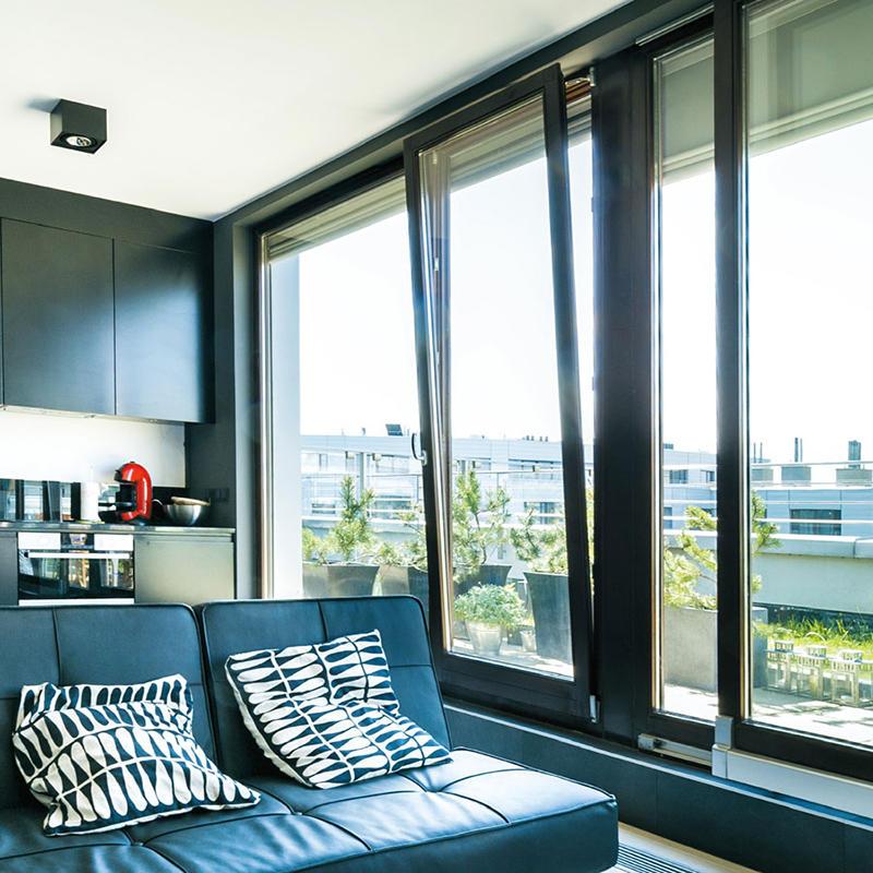 Modern Style Aluminum Hung Window