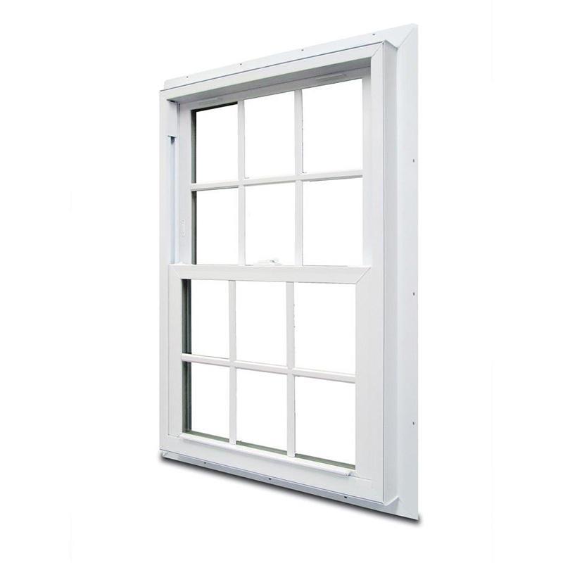 Beautiful Withe Aluminum Hung Window