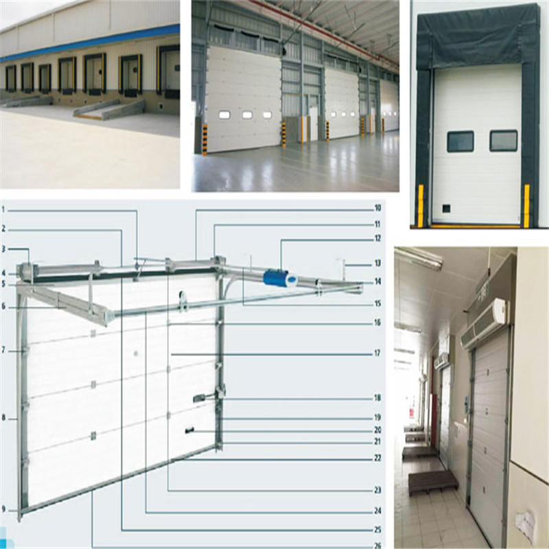 Custom Industrial Lifting Door