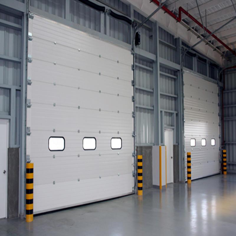 50mm Door Panel PPGI Material Lifting Door