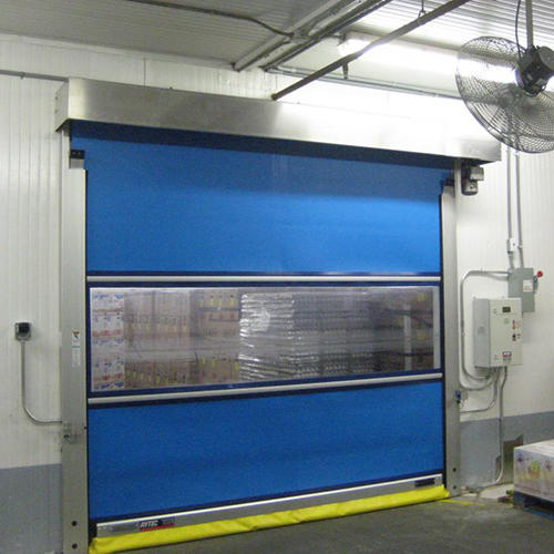 Automatic PVC Fabric Fast PVC roll up door