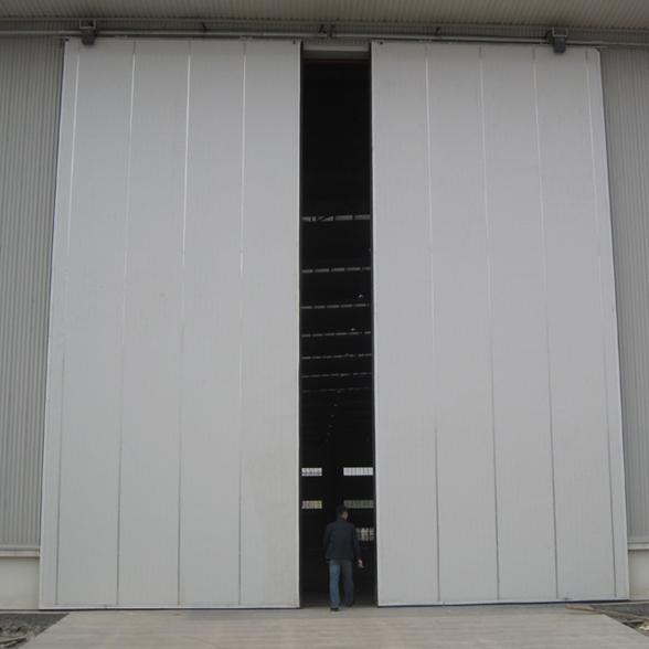 Zhongtai-Industrial Roller Doors, 50mm Door Panel Ppgi Material Industrial Sliding Door