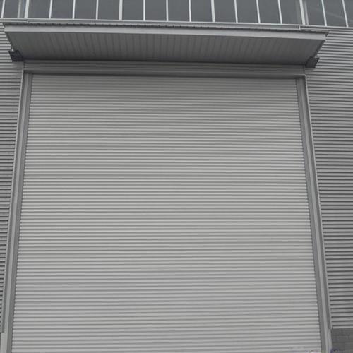 Aluminum Good Quality Windproof Shutter Door