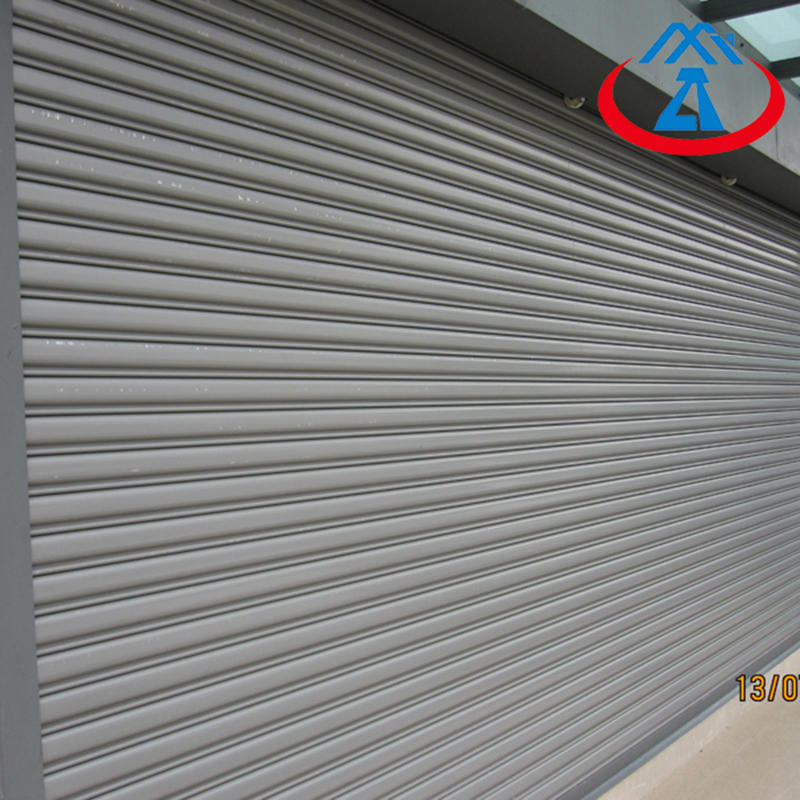 Commercial Position Stainless Steel Rolling Shutter Door