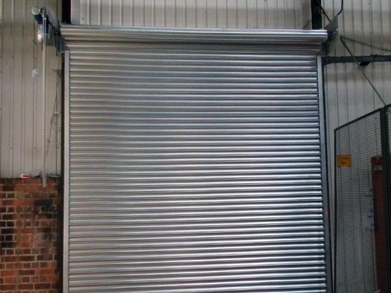 Stainless Steel Roll Up Shutter Door