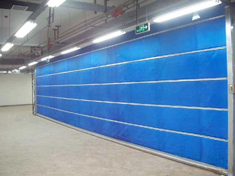 The Special Grade Inorganic Fireproof Shutter Door