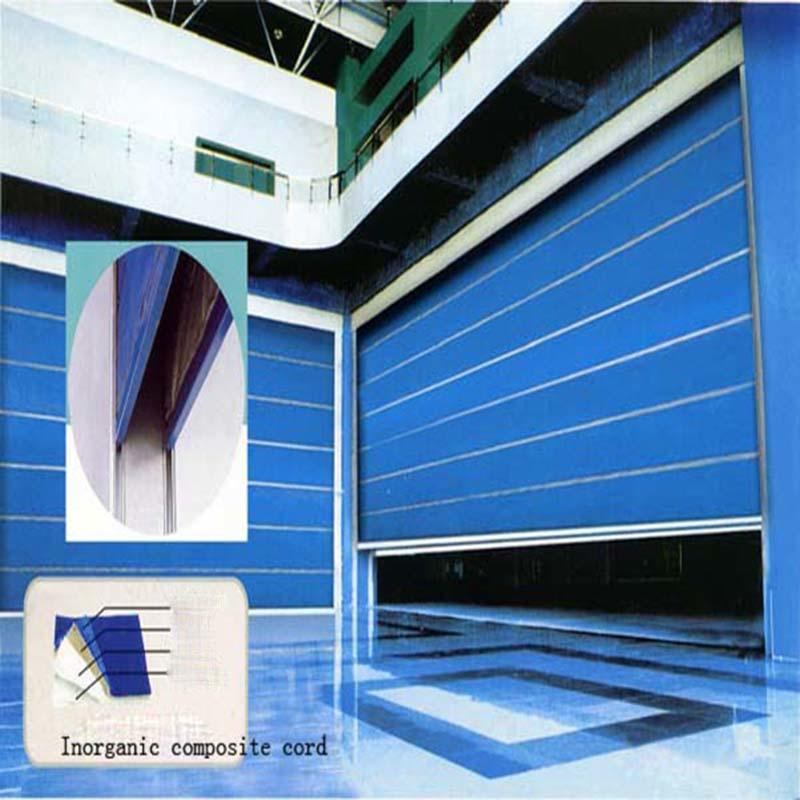 Inorganic Super Fireproof  Shutter Door
