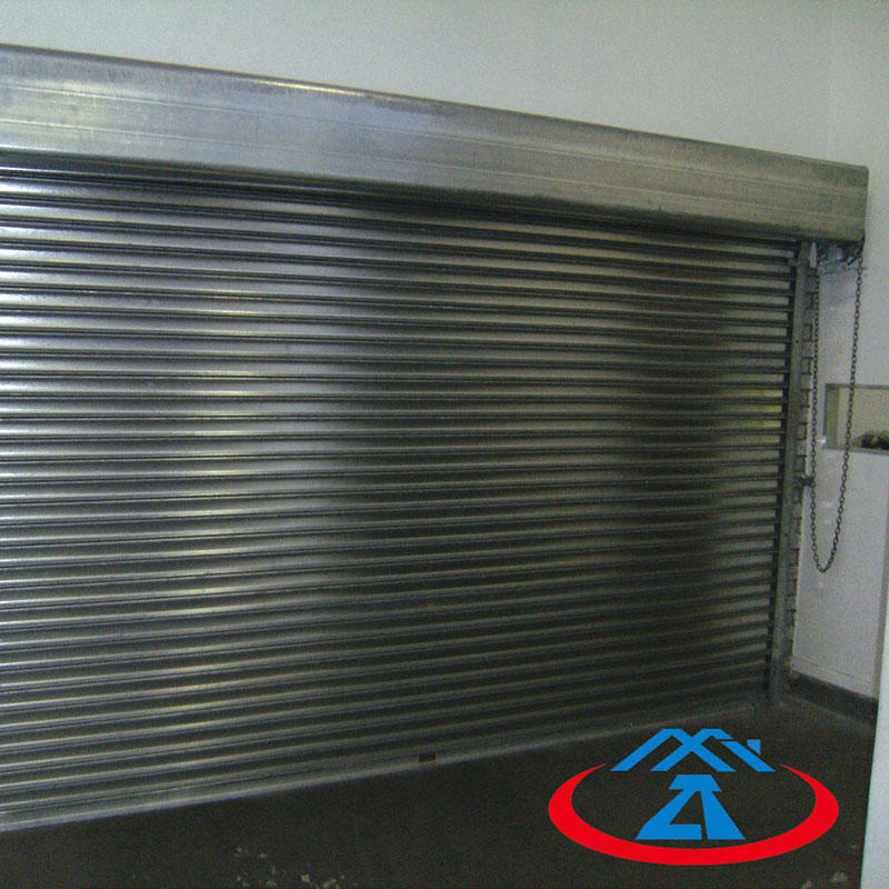 Composite Steel Fireproof Rolling Shutter Door
