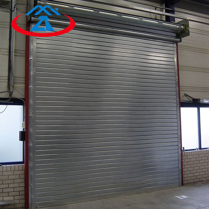 Zhongtai-Fire Safety Door | Composite Steel Fireproof Rolling Shutter Door - Zhongtai-1