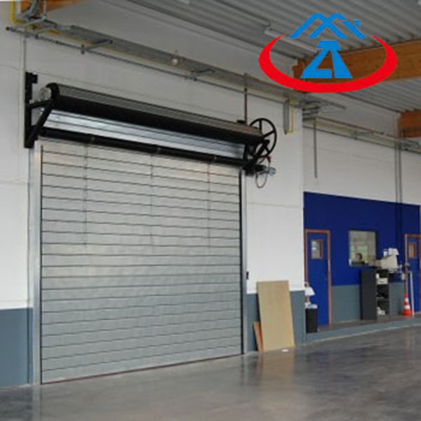 Zhongtai-Fire Safety Door | Composite Steel Fireproof Rolling Shutter Door - Zhongtai-2