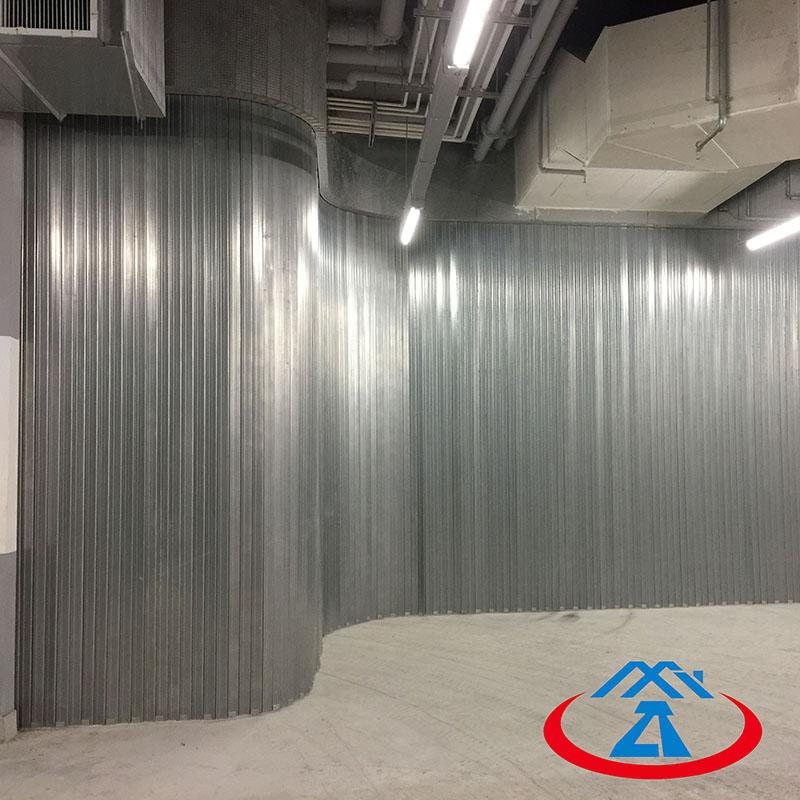 Zhongtai-Cheap Fire Doors, Composite Steel Side Direction Fireproof Shutter