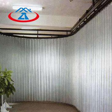 Zhongtai-Cheap Fire Doors, Composite Steel Side Direction Fireproof Shutter-3