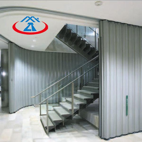 Zhongtai-Cheap Fire Doors, Composite Steel Side Direction Fireproof Shutter-1