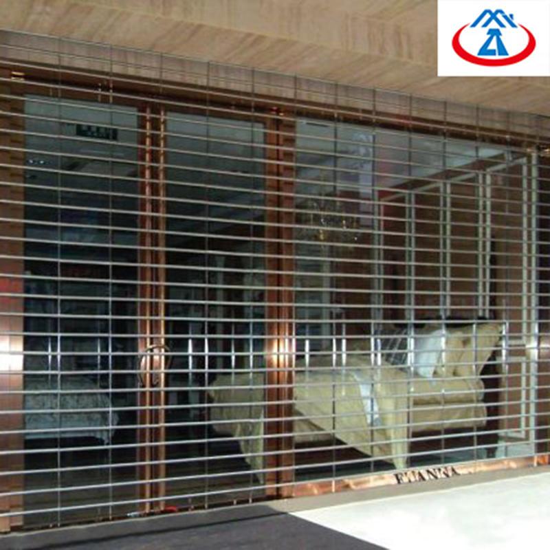 Commercial Stainless Steel Grills Rolling Security Door