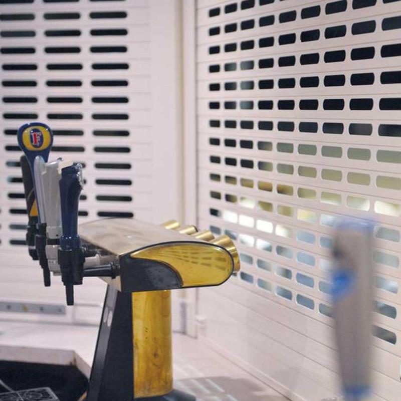 Remote Control Grilles Rolling Shutter Door
