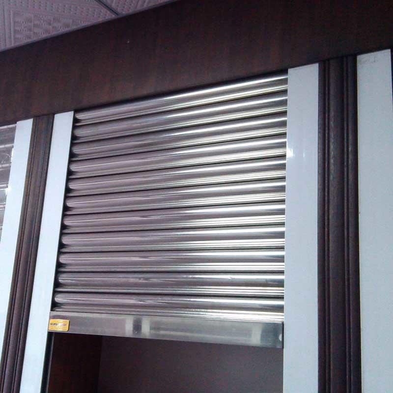 Custom Electric Stainless Steel Rolling Shutter Door