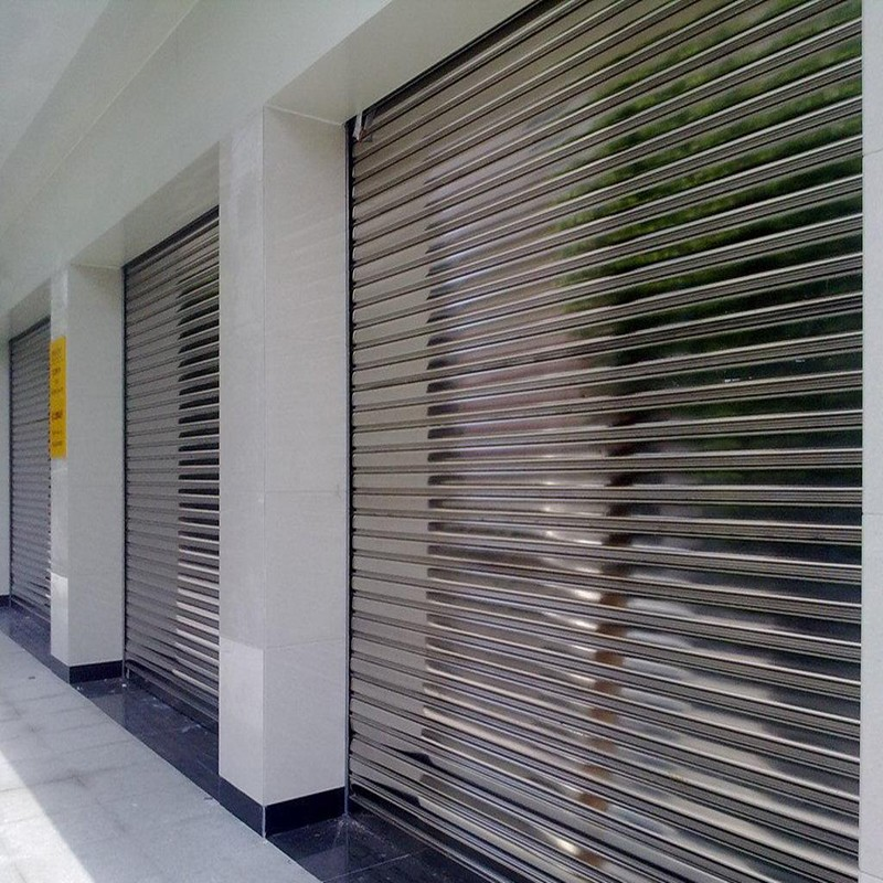Zhongtai-Steel Roll Up Doors | Custom Electric Stainless Steel Rolling Shutter Door