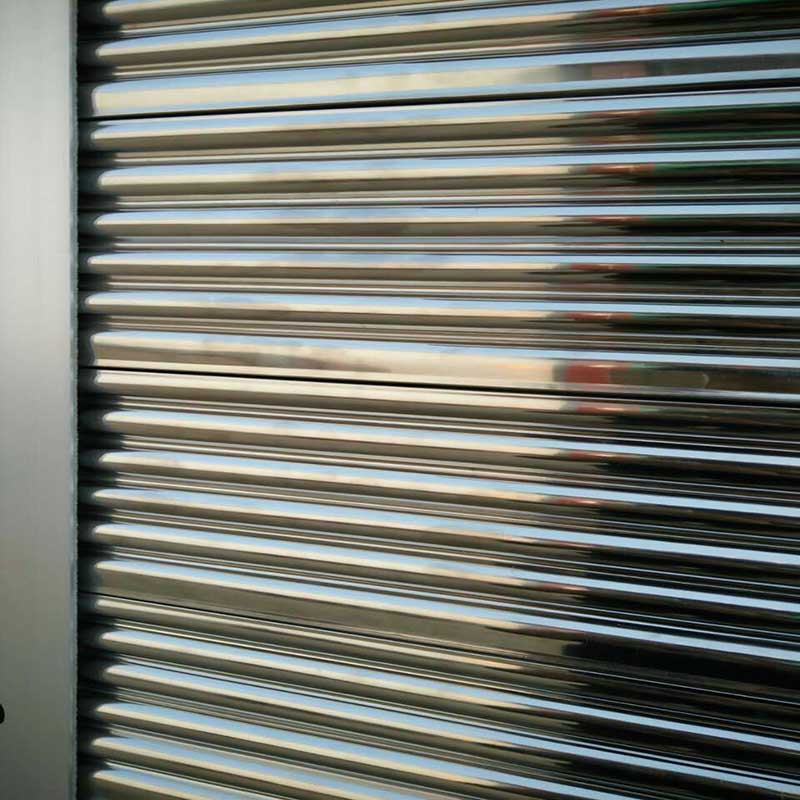 Zhongtai-Steel Roll Up Doors | Custom Electric Stainless Steel Rolling Shutter Door-3