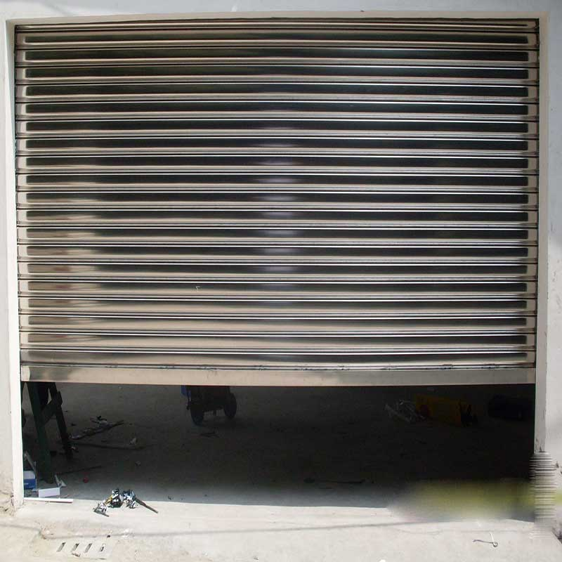 Zhongtai-Steel Roll Up Doors | Custom Electric Stainless Steel Rolling Shutter Door-2