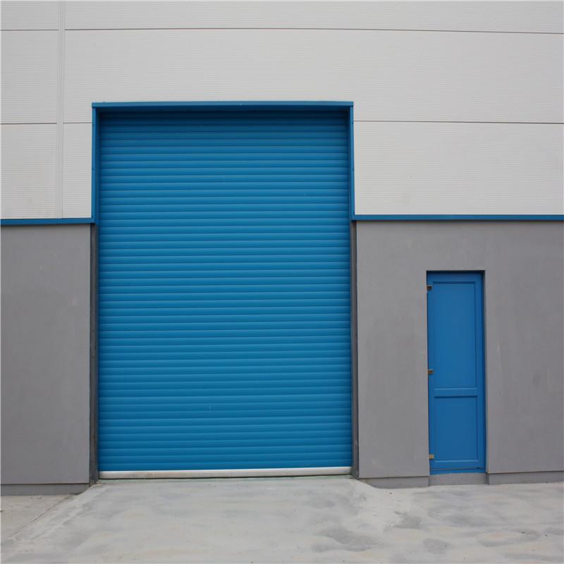 Hurricane Windproof Roll Up Door