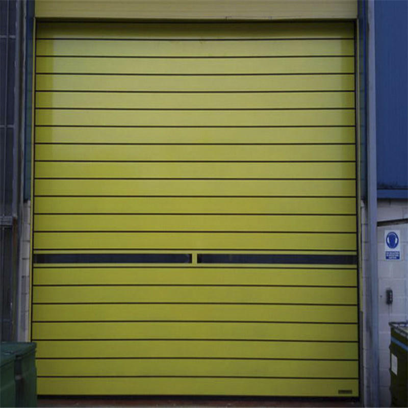 Windproof Industrial Overhead Door