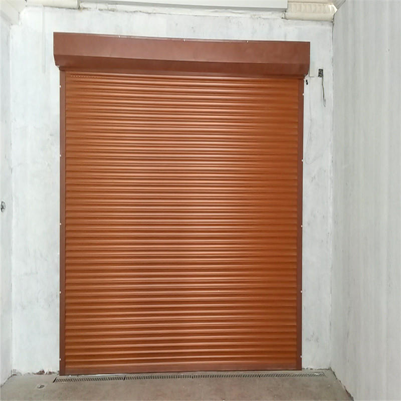 Windproof Vertical Door