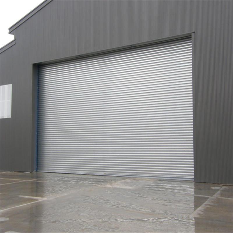 Aluminum Windproof Shutter Door
