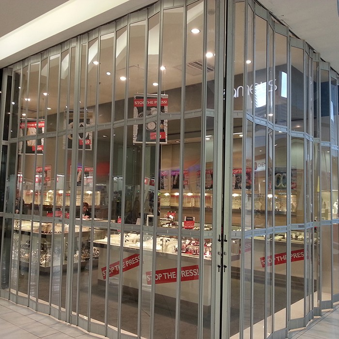 Zhongtai-Professional Folding Door Polycarbonate Sliding Doors Manufacture