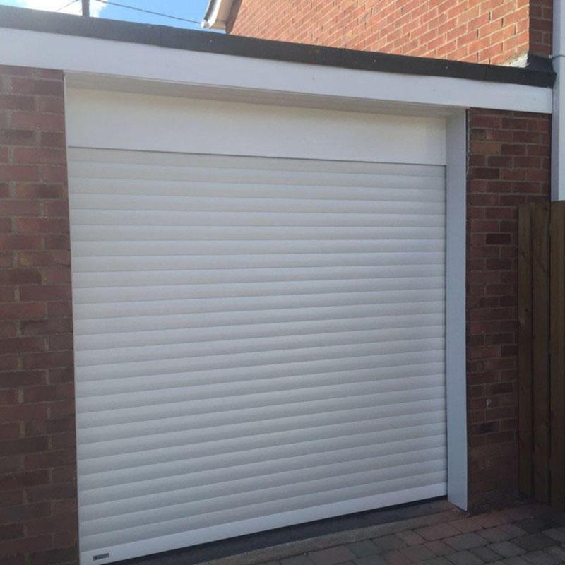 Electric Double Layer Slat Aluminum Rolling Door