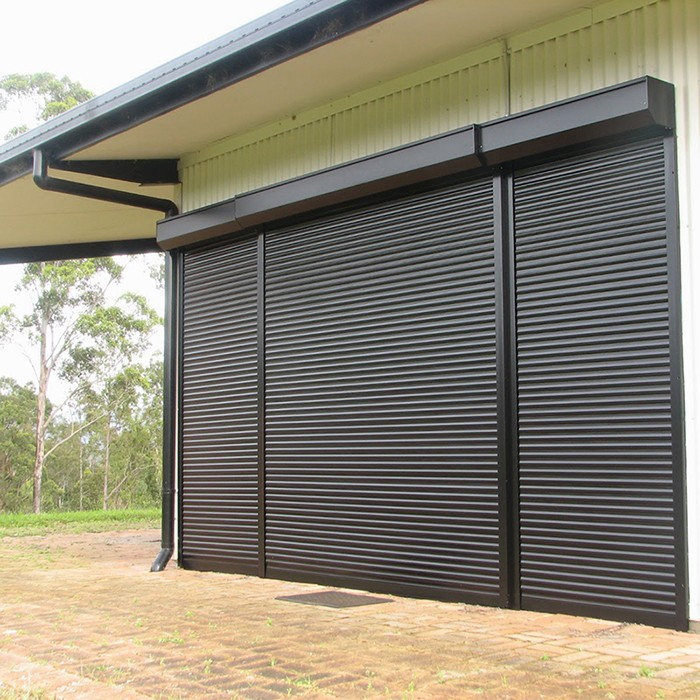 Zhongtai-Strong High Quality Sound Insulation Aluminum Rolling Door | Aluminium