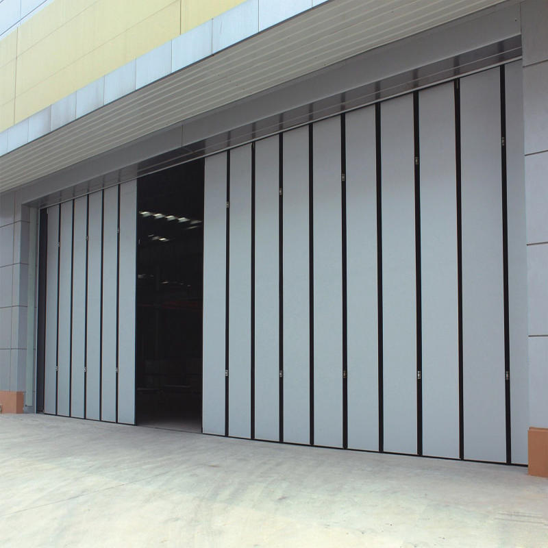 Industrial Panel Overhead Sliding Door