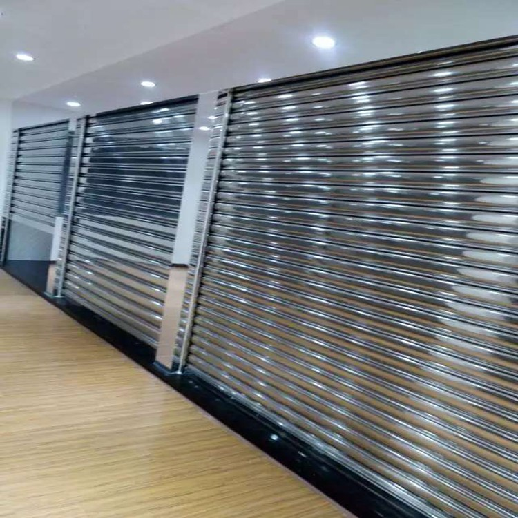 Zhongtai-Commercial Steel Doors Manufacture | Electric 304 Stainless Steel Rolling Door