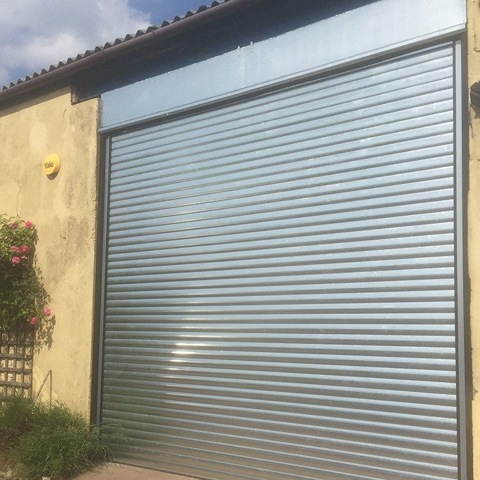 Zhongtai-Automatic Good Quality Strong Stainless Steel Rolling Door | Steel Roll