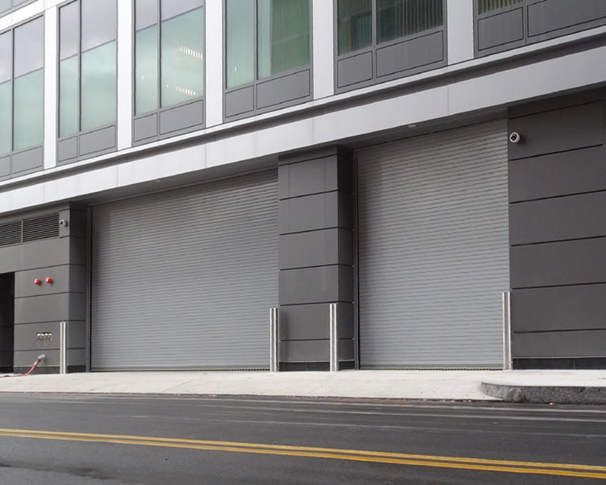 Automatic Stainless Steel Roller Door