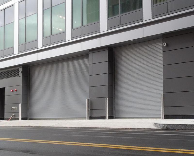 Automatic Stainless Steel Roller Door