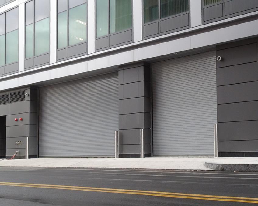 Zhongtai-Automatic Stainless Steel Roller Door | Commercial Steel Doors Company