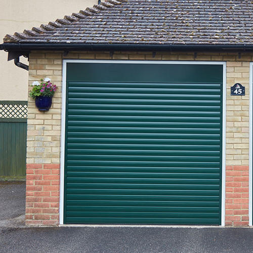 Customized Vertical Electric Garage Roller Door