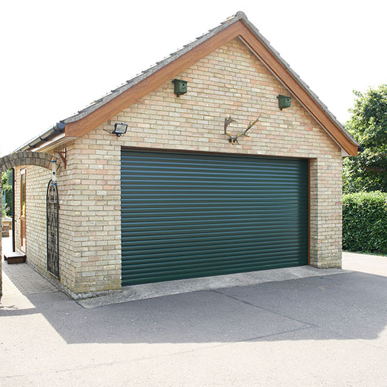 Zhongtai-Electric Garage Doors Beautiful Appearance Vertical Aluminum Roller Garage