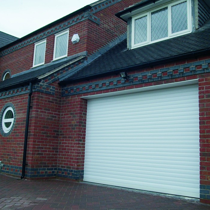 Zhongtai-Best Best Insulated Garage Doors Double Layer Slat With Pu Sound Insulation