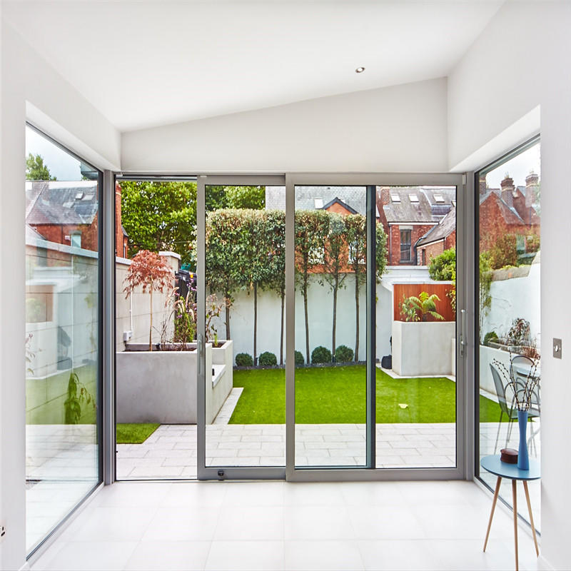 Tempered Glass Sliding Doors