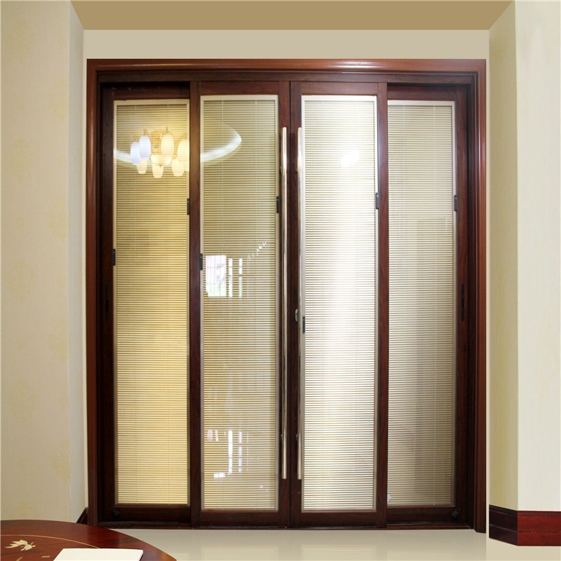 Zhongtai-Aluminium Sliding Doors Tempered Glass Sliding Doors-1