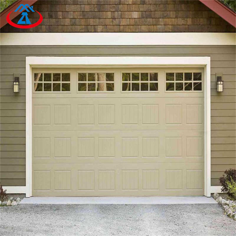Hot Sale Sectional Automatic Garage Door Customized Garage Door