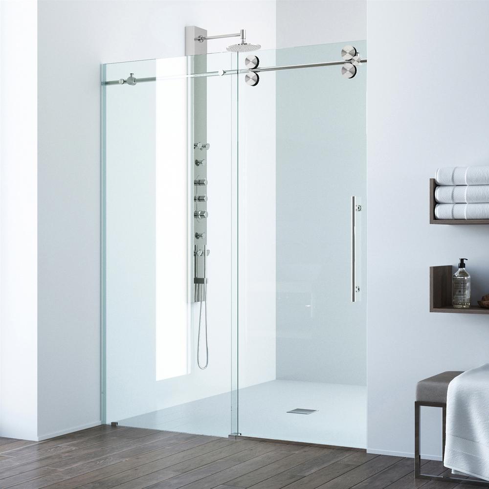 Laminated sliding glass door